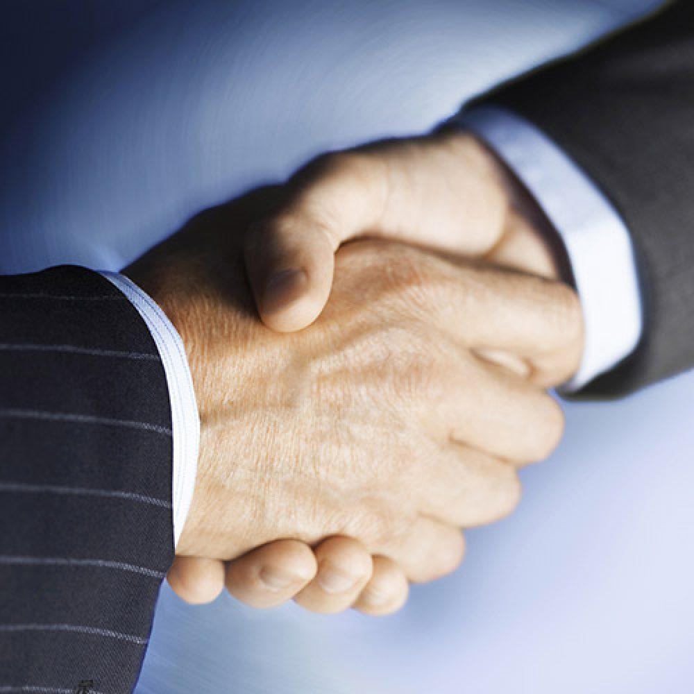 performance bonds handshake